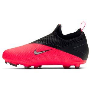 Nike Kinder Phantom Vision 2 Academy Dynamic Fit MG rot / schwarz – Bild 2