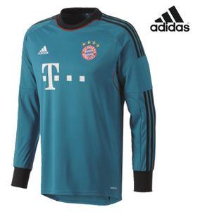 adidas FC Bayern München GK Jersey Torwarttrikot 2013/2014 petrol blau