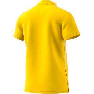 adidas Core 18 Herren Poloshirt gelb – Bild 2