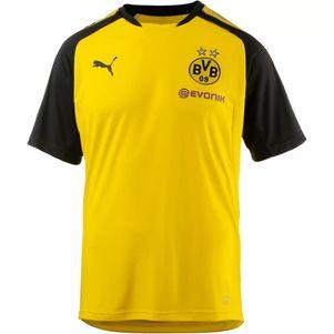 Puma BVB Borussia Dortmund Trainingsshirt gelb 2017/2018 – Bild 1