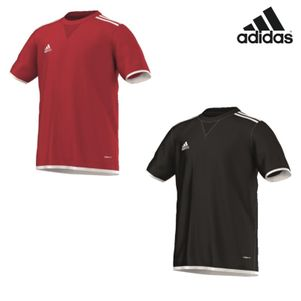 adidas Core11 TRG Jersey Youth Trainingsshirt Kinder rot / schwarz – Bild 1