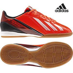 adidas F10 IN J Kinder Hallenfußballschuhe rot/weiß/schwarz