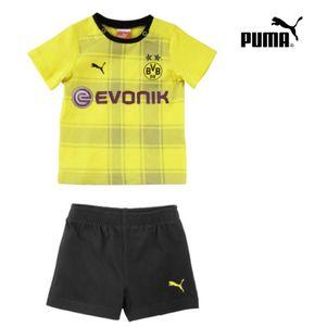 Puma BVB Dortmund Hometrikot Babykit 2013/2014 gelb / schwarz