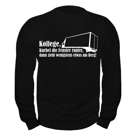 Männer Sweatshirt Kraftfahrer