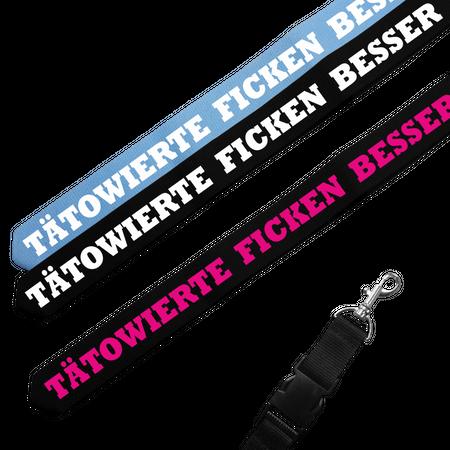 Schlüsselband Tätowierte ficken besser