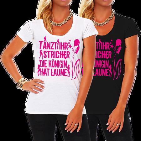 Frauen Shirt Tanzt Ihr Stricher PINK