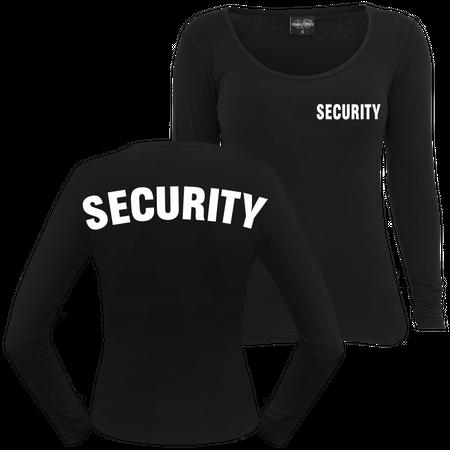 Frauen Langarm Security