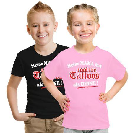 Kinder T-Shirt Meine Mama hat coolere Tattoos als deine!