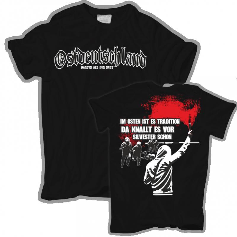 Männer T-Shirt Im Osten ist es Tradition 001 c5620a07d2
