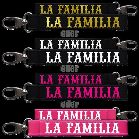 Neopren Schlüsselanhänger La Familia