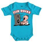 Baby Body Strampler kurz Isch rocke 3