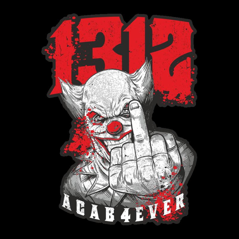 Wetterfester Aufkleber ACAB 13 Oder 40cm 1312 Joker