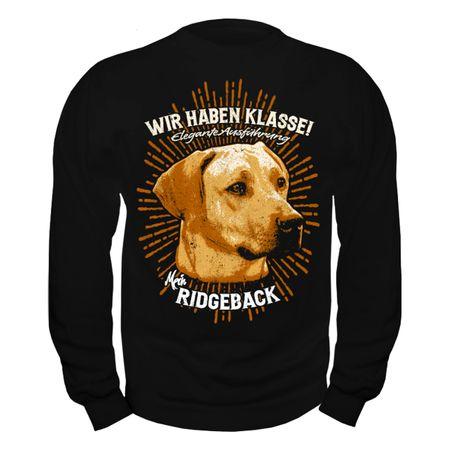 Männer Sweatshirt Rhodesian Ridgeback - Elegante Ausführung