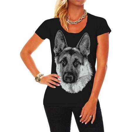 Frauen Shirt Deutscher Schäferhund