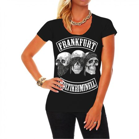 Frauen Shirt Frankfurt - Multikriminell