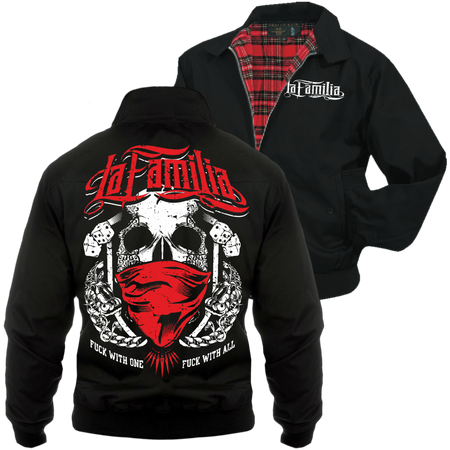 Männer Harrington Jacke La Familia - Fuck with one