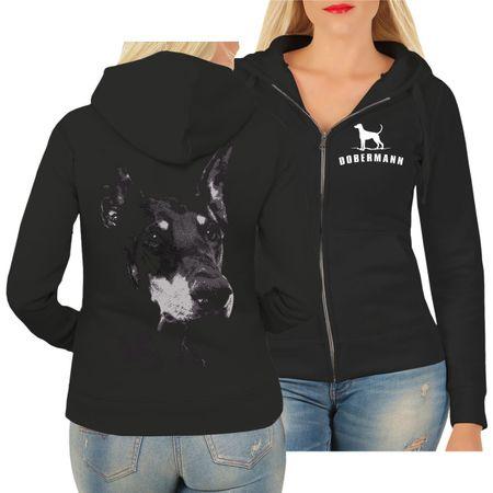 Frauen Kapujacke Dobermann BOSS kupiert
