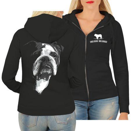 Frauen Kapujacke Englische Bulldogge BOSS