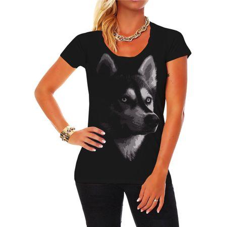 Frauen Shirt Siberian Husky BOSS (neu)