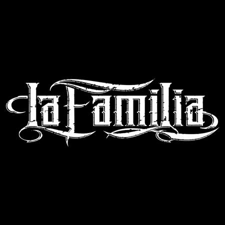 Aufkleber La Familia LOGO