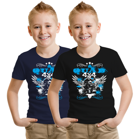Kinder T-Shirt Quad 4x4