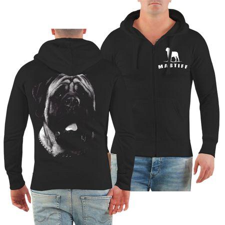Männer Kapuzenjacke Mastiff