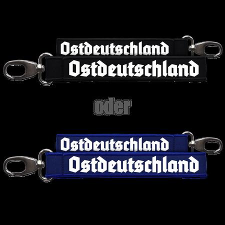 Neopren Schlüsselanhänger Ostdeutschland altdeutsch