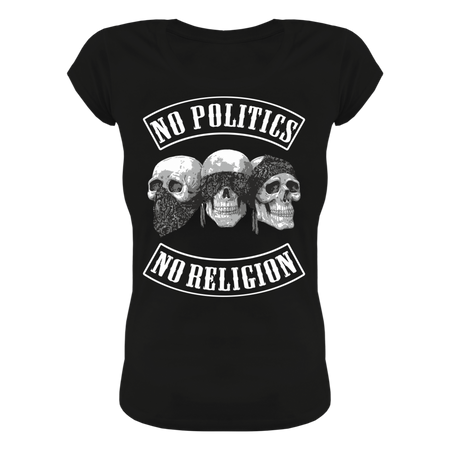 Frauen Shirt No Politics No Religion