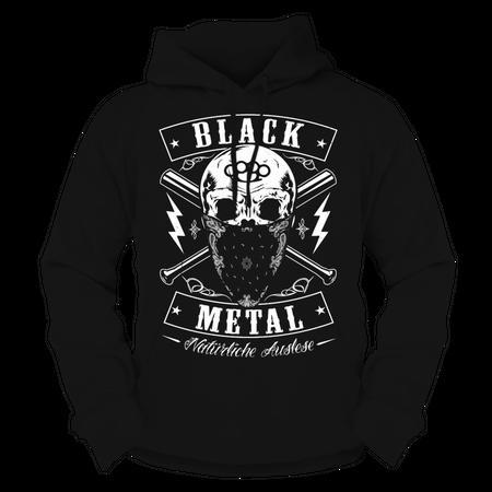 Männer Kapu BLACK METAL
