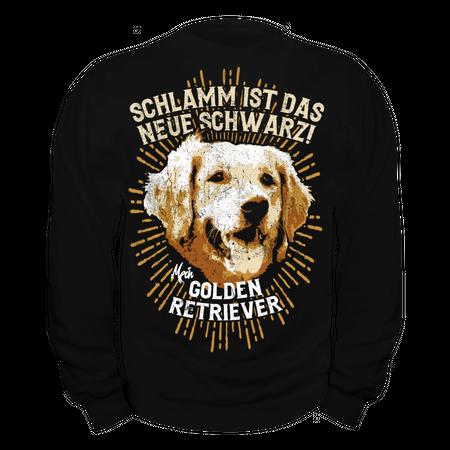 Männer Sweatshirt Golden Retriever Spruch