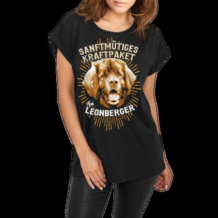 Frauen lässiges Shirt Leonberger - Sanftmütiges Kraftpaket