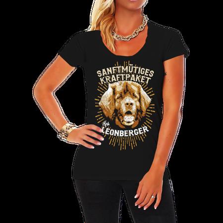 Frauen Shirt Leonberger - Sanftmütiges Kraftpaket