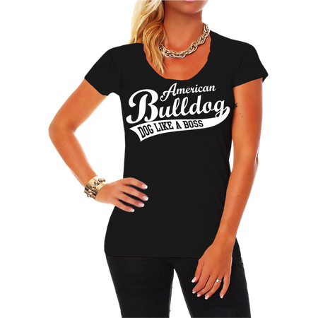 Frauen Shirt American Bulldog  (neu)