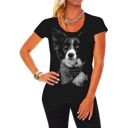 Frauen Shirt Border Collie BOSS