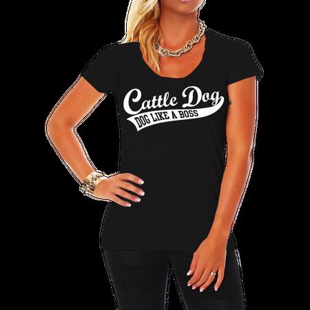 Frauen Shirt Australian Cattle Dog BOSS