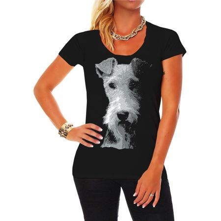 Frauen Shirt Foxterrier BOSS