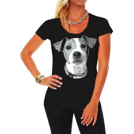 Frauen Shirt Jack Russell BOSS