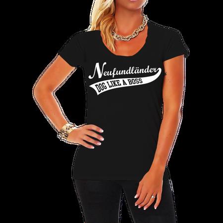 Frauen Shirt Neufundländer