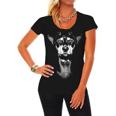 Frauen Shirt Deutscher Pinscher
