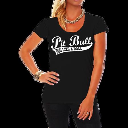 Frauen Shirt Pit Bull BOSS (neu)