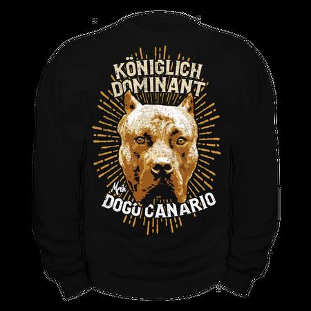 Männer Sweatshirt Dogo Canario - Königlich Dominant