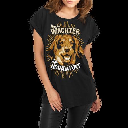 Frauen lässiges Shirt Hovawart - Mein Wächter