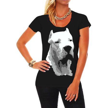 Frauen Shirt Dogo Argentino BOSS