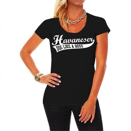 Frauen Shirt Havaneser BOSS
