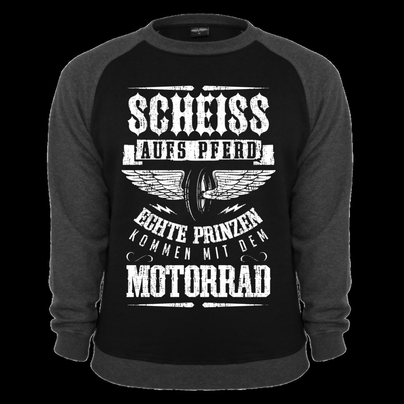 pullover sweatshirt prinzen kommen mit dem motorrad biker. Black Bedroom Furniture Sets. Home Design Ideas