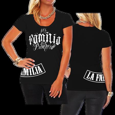 Frauen Shirt Mi Familia es Primero