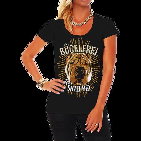 Frauen Shirt Shar Pei - Bügelfrei
