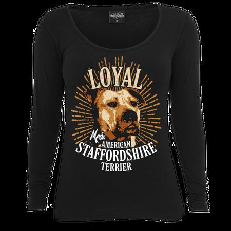 Frauen Longsleeve American Staffordshire Terrier - Loyal
