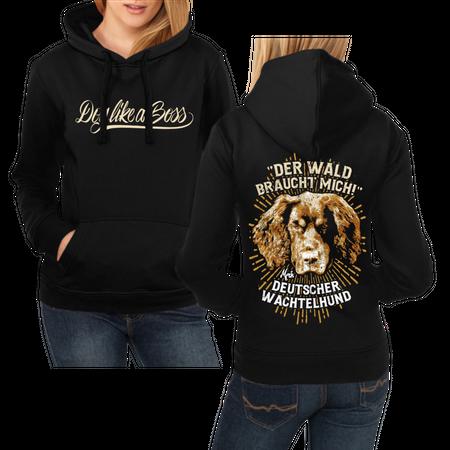 Frauen Kapu Deutscher Wachtelhund - Der Wald braucht mich