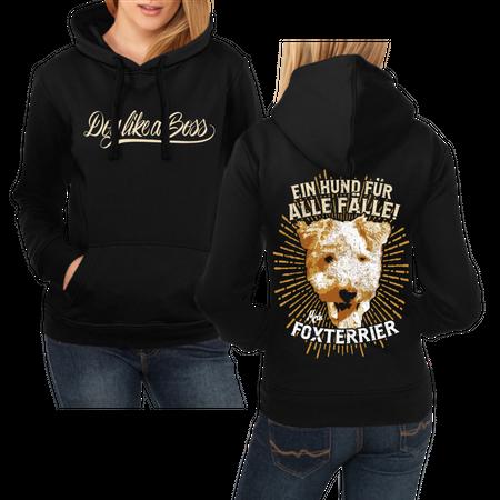 Frauen Kapu Foxterrier - ein Hund für alle Fälle